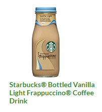 starbucks nutrition pdf