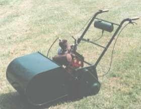 suffolk 1930s manual lawnmower