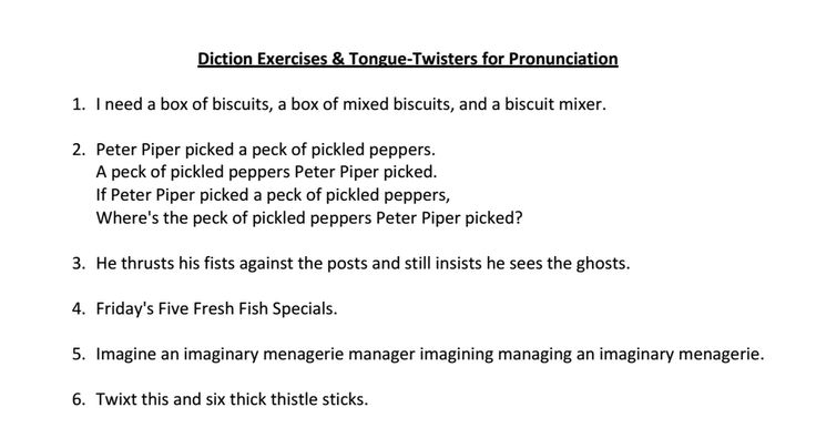 tongue twisters pdf