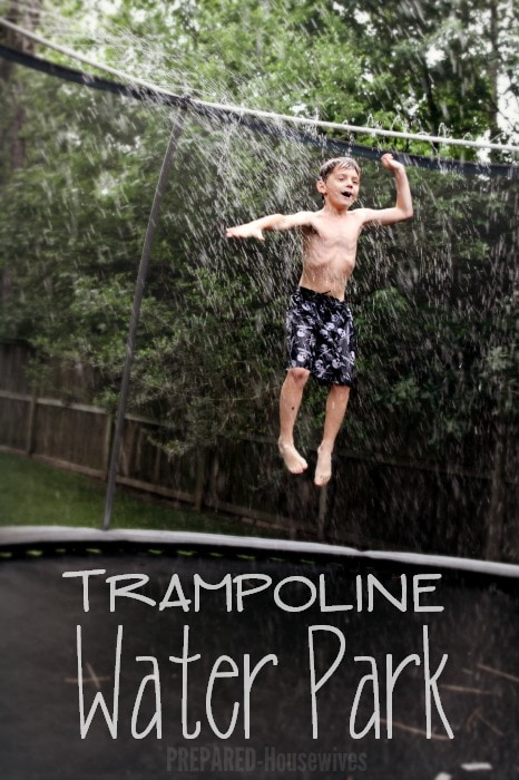 trampoline water sprinkler instructions