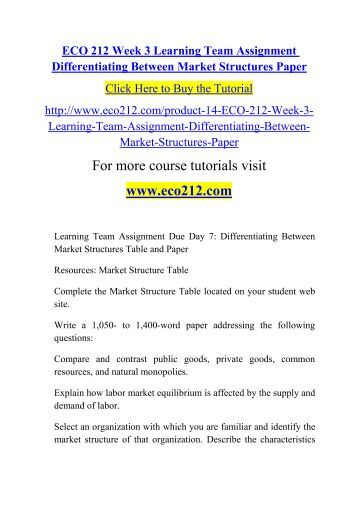 types of market structures pdf