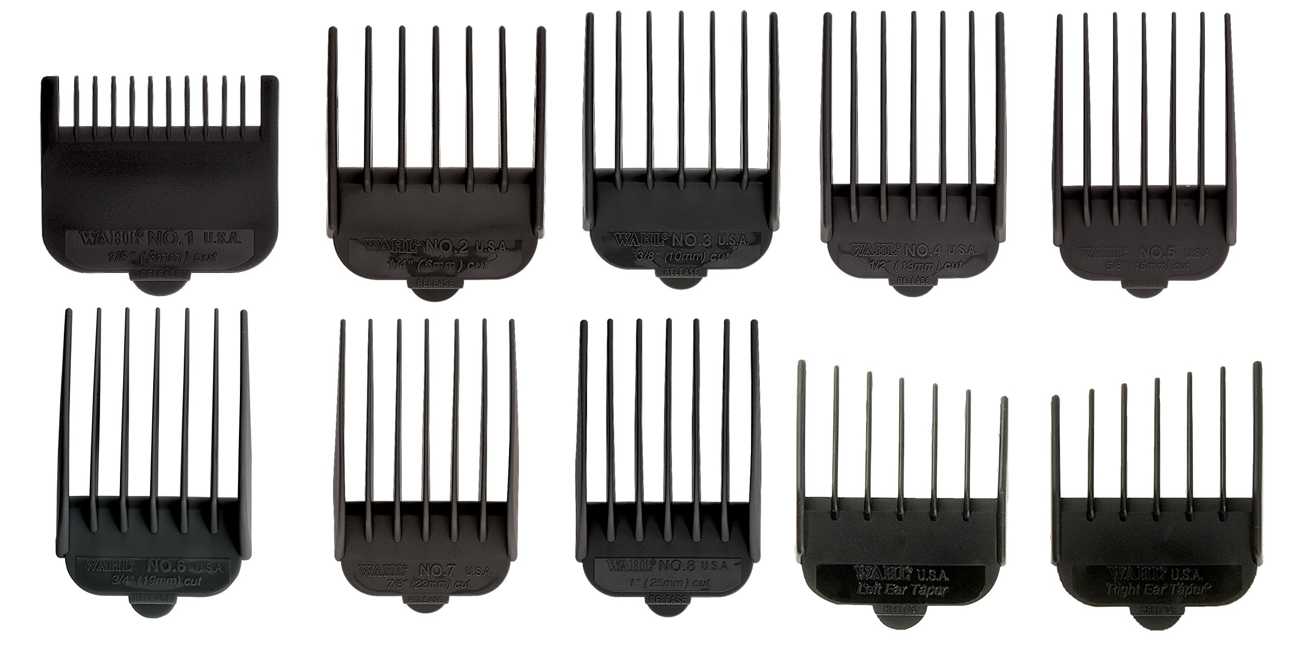 wahl 10 and 12 guide combs