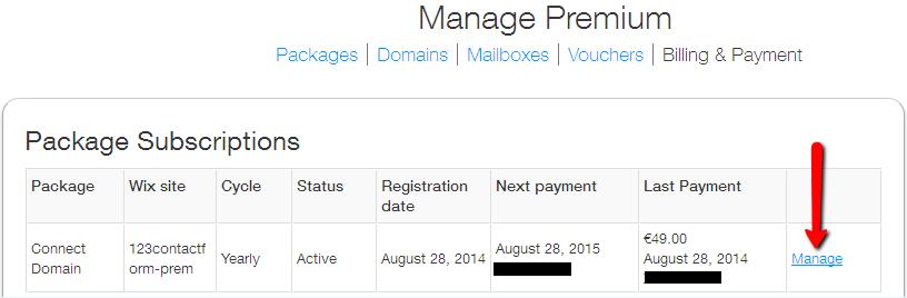 wix manual payment