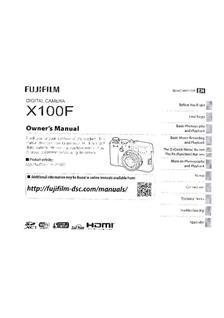 x100f manual